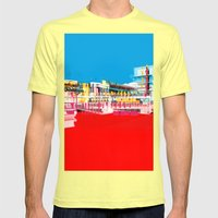 Bauhaus · Das Bauhaus 1 Mens Fitted Tee Lemon SMALL