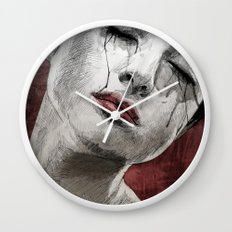 Venom and Tears Wall Clock