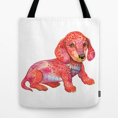 Mini Dachshund  Tote Bag