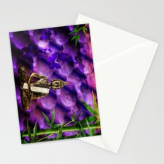 purple Buddha Stationery Cards