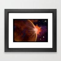 SPACE 01022015 – 203 Framed Art Print