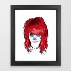 Dame of the Dead Framed Art Print