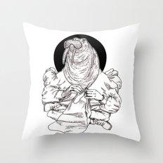 Walrus Throw Pillow