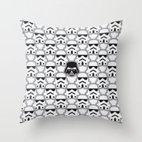 The Dark One Throw Pillow