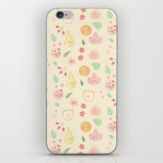 Fruit and Flora iPhone & iPod Skin