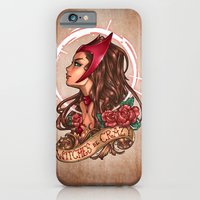 iPhone & iPod Case featuring WiTcHeS bE CraZy by Tim Shumate