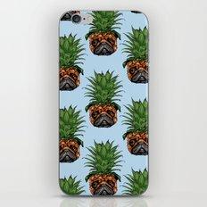 Pineapple Pug  iPhone & iPod Skin