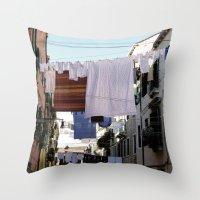ITALIA Throw Pillow
