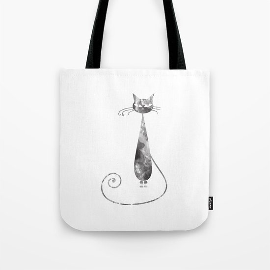 Serious Cat Tote Bag