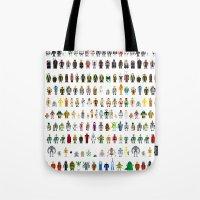 Pixel Wars Tote Bag