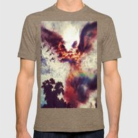 Guardian Angel Mens Fitted Tee Tri-Coffee SMALL
