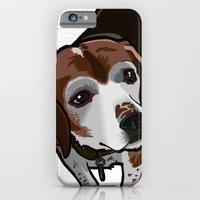 iPhone & iPod Case featuring Clancy (white) by BinaryGod.com