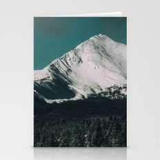Winter In Montana Stationery Cards