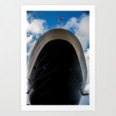 Ship Shape Art Print