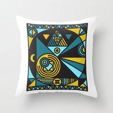 Witchcraft Alchemist Throw Pillow