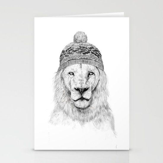 Winter is coming Stationery Card