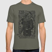 The Evil Plague Mens Fitted Tee Lieutenant SMALL