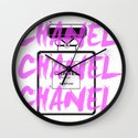 Chanel Wall Clock