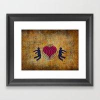 Magnetic Love Framed Art Print