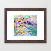 Wind Chime Framed Art Print