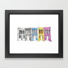 George Town, Penang Framed Art Print