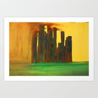 This City, Too, Will Be … Art Print
