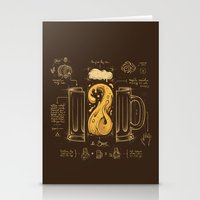 Le Beer (Elixir of Life) Stationery Cards