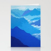 Blue Mountains Stationery Cards