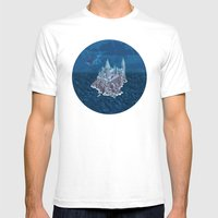 Hogwarts series (year 6: the Half-Blood Prince) Mens Fitted Tee White SMALL
