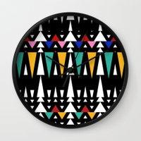 Tribal Fun 2 Wall Clock