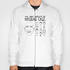 The Many Haircuts Of Nicolas Cage. Hoody