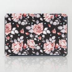 Vintage Pink Floral Pattern iPad Case