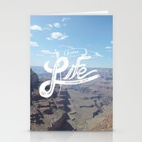 Choose Life-Grand Canyon Stationery Cards