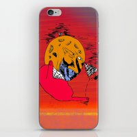 moon-spider-web-summerpool-in-the-winter iPhone & iPod Skin