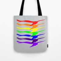 Fly Into The Rainbow Tote Bag