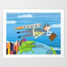 Going Global Art Print