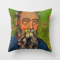 David K Lewis Throw Pillow