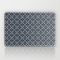 Navy Tiles Laptop & iPad Skin