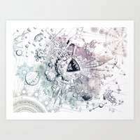 Universe in Progress Art Print