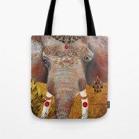 Gilded Elephant Of Jaipu… Tote Bag