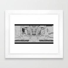 ZERO-DAY (TWO) Framed Art Print