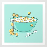 Early Morning Party Art Print