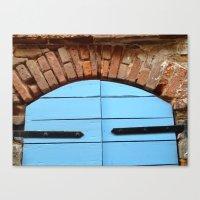 Historic St. Thomas USVI Door way Canvas Print