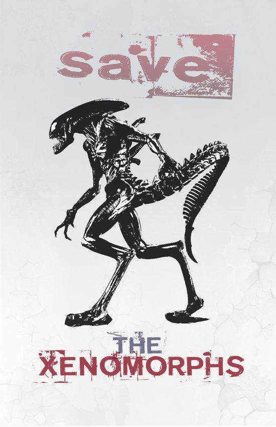 Save The Xenomorphs Art Print