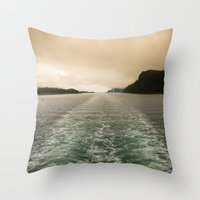 Night or Day? Throw Pillow