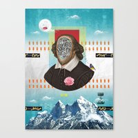 Shakespeare In Disguise Canvas Print