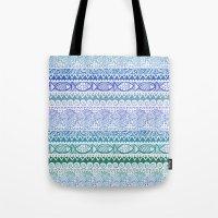 Sea of Stripes Tote Bag