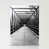 Bridge To Nowhere Black … Stationery Cards