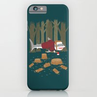 iPhone & iPod Case featuring LumberJack Shark by Nick Volkert