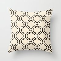 Trellis Pattern I Throw Pillow